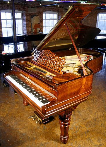 An 1898, Steinway Model B grand piano with an exquisite rosewood case at Besbrode Pianos