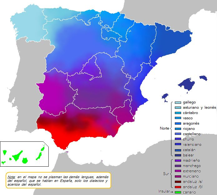 Languages In Spain Map.Languages And Dialects Of Spain Spanish Caravan Pinterest