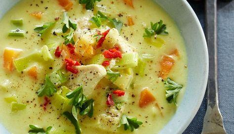 Karrysuppe - Suppen er simpelthen så nem at lave og smager skønt!