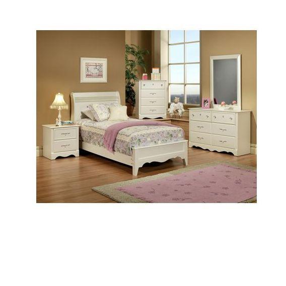 Enchanted 5PC Full Bedroom Set | Famsa | Catálogo en Línea de Electrónicos, Muebles, Computadoras, Minisplits, Línea Blanca y Más