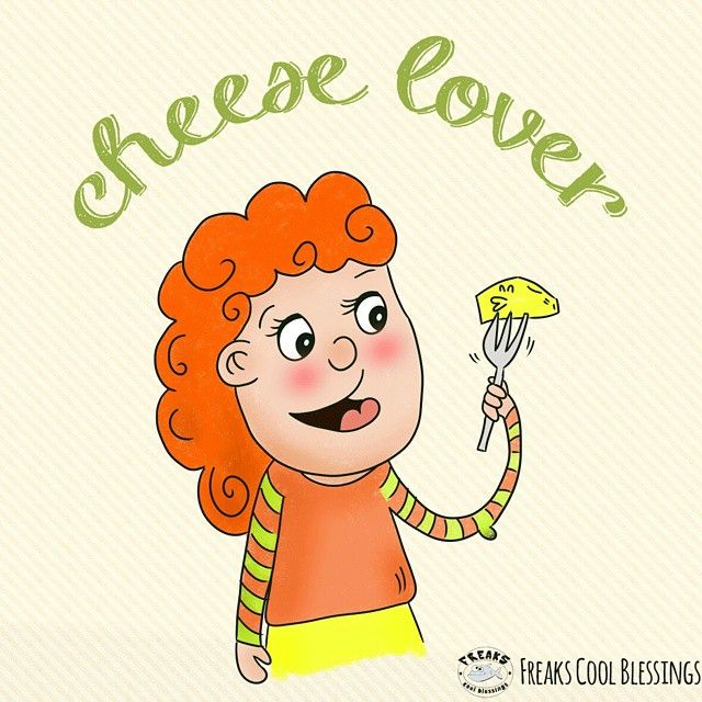 Cheese lover #illustration  #cheese #lover #food #delicious #funny