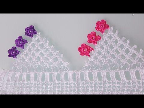 Kolay Çeyizlik Havlu Kenarı Yapımı - YouTube