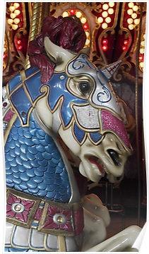 Carousel horse, Roger Williams Park, Providence