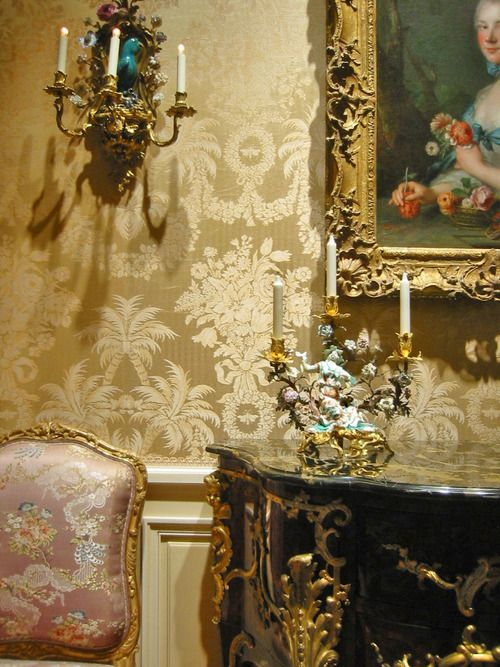 The 18th Century room at the Met Museum by Evan Izer