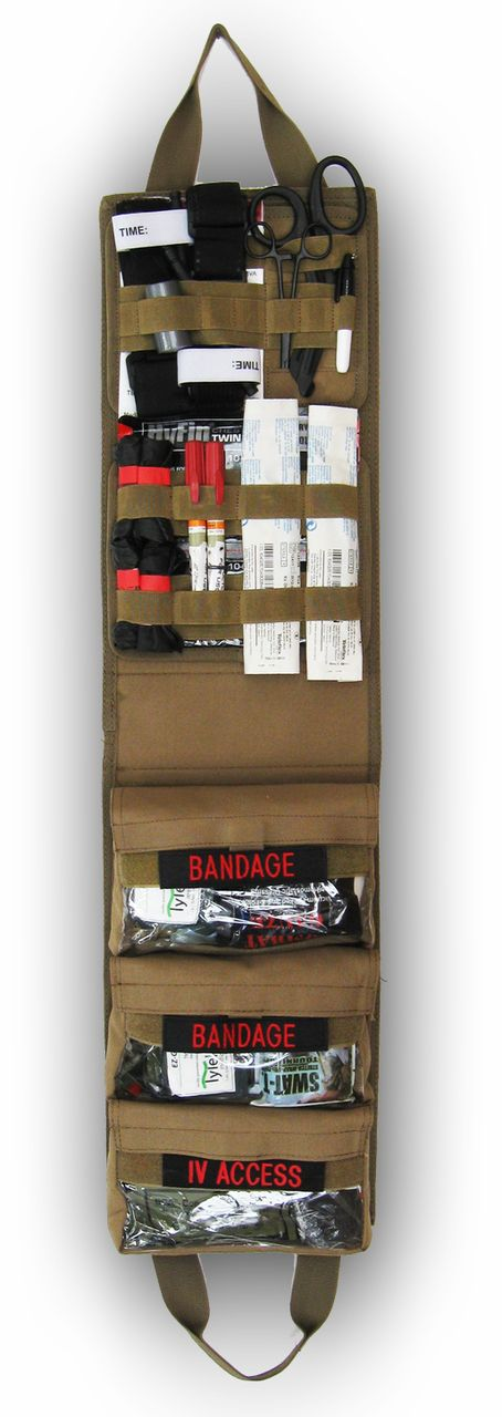Medical Pack Insert-TCCC Compliant Coyote