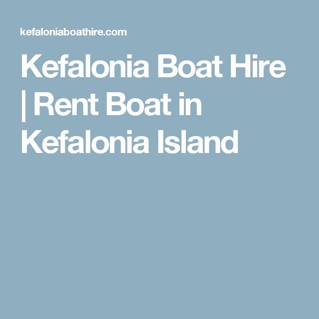 Kefalonia Boat Hire | Rent Boat in Kefalonia Island