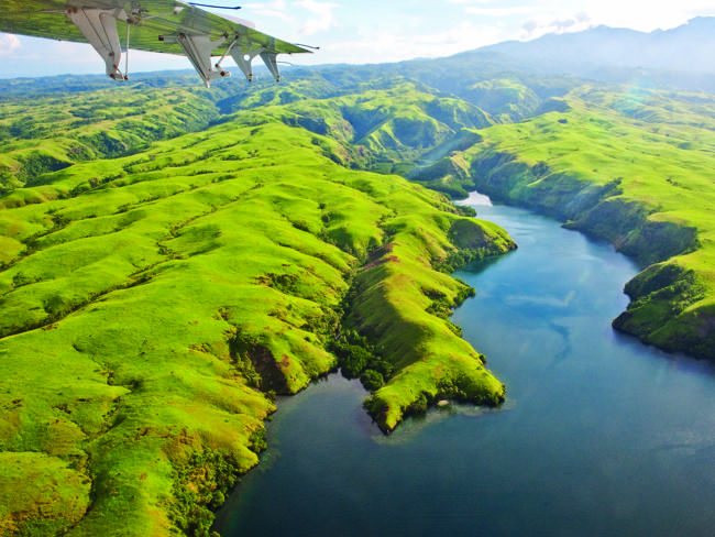 The famous Tufi Fjords in the Northern Province of Papua New Guinea. Discover this amazing place with Tufi Resort or a Tufi guesthouse homestay: www.papuanewguinea.travel/x,1,2384/tufi-resort.html