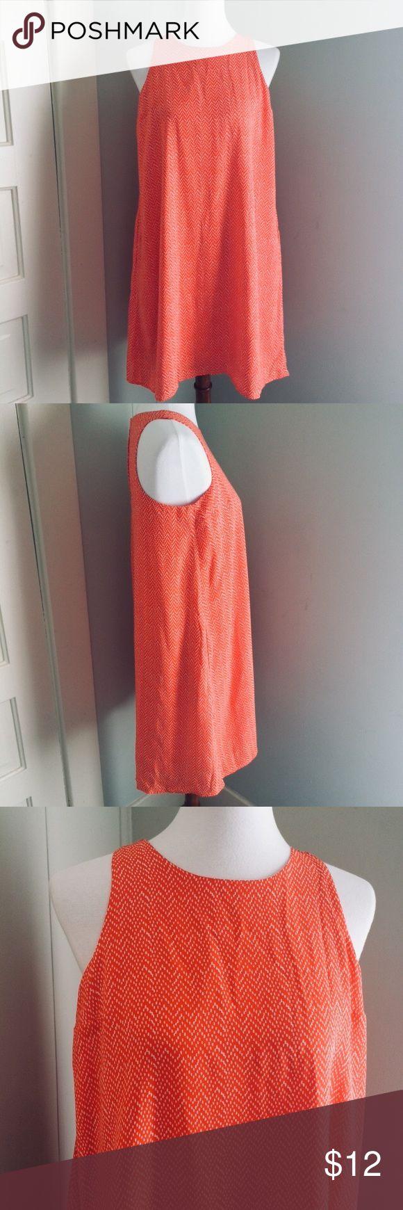 "Gap dress Beautiful orange dress!  Fully lined and has pockets.   Armpit to armpit - 18"" Top of strap to hem - 36"" GAP Dresses"