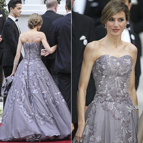 Princess Letizia of Spain in Felipe Varela