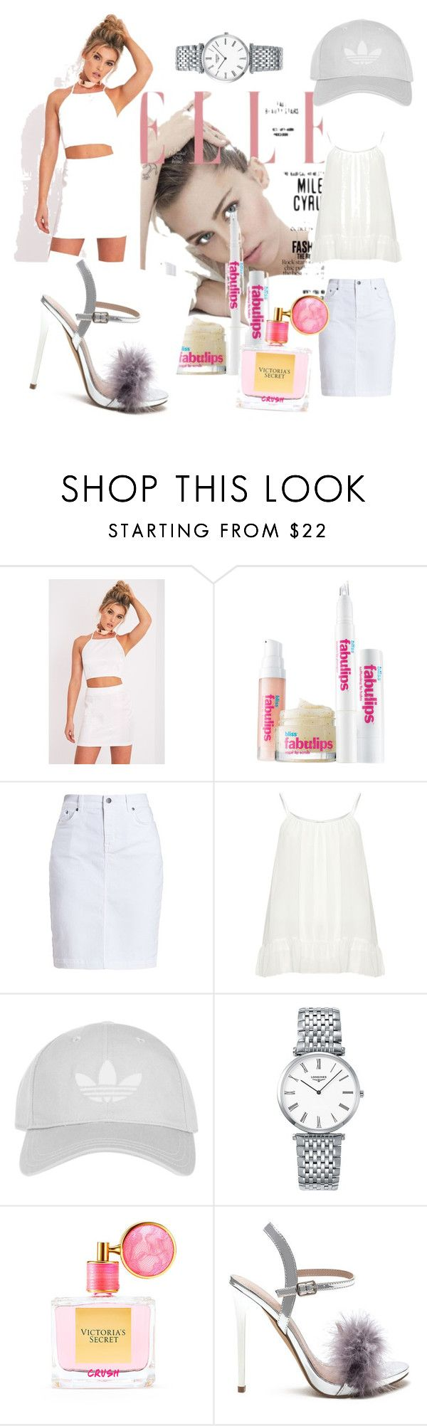 """""""Untitled #4"""" by arrow10 ❤ liked on Polyvore featuring Bliss, Barbour, Zizzi, Topshop, Longines and Victoria's Secret"""
