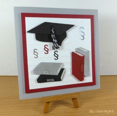 stampin up, graduation