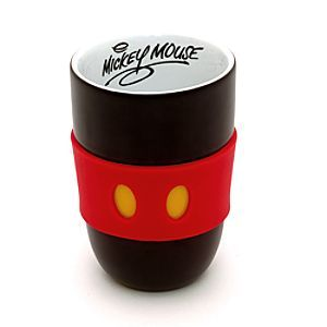 Disney Mickey Mouse To Go Mug | Disney StoreMickey Mouse To Go Mug - This classy and practical Mickey Mouse 'to go' mug provides a subtle serving of Disney magic. With a silicone grip resembling Mickey's shorts, it's perfect for taking hot drinks on the go!