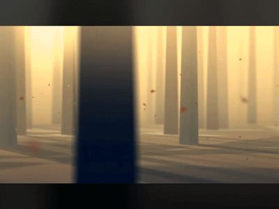 A snippet from a animation test. 2d in a 3d world. Some creatures will be added to the background later :) I haven't decided if the trees should fall like this, or have more of a explosion feel. My...