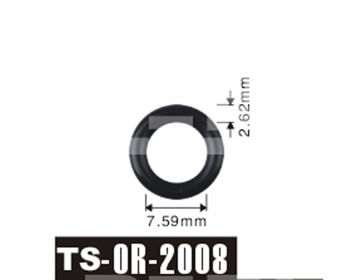 free shipping Tenso 200pcs 7.59x2.62 mm For Renault clio and Fiat Injector Viton O'Rings ORings O Rings O-Rings TS-2008