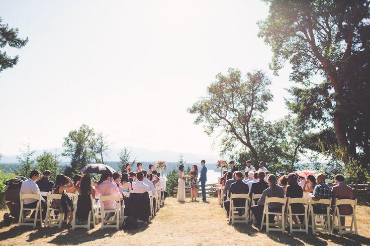 Bodega Ridge Wedding Ceremony Site on Galiano Island