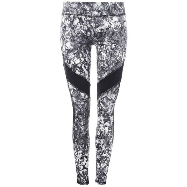 Marblelicious Sport Legging ($33) ❤ liked on Polyvore featuring pants, leggings, sport leggings, sports leggings, sports trousers, sport trousers and sport pants