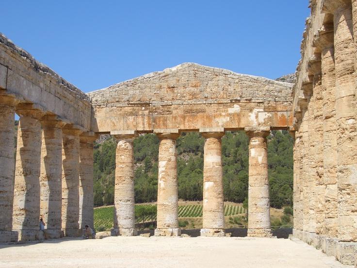 Greek ruins - Segesta, Sicily