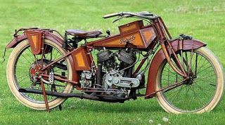 """The rarest motorcycle in the world was found behind a brick-wall  in Chicago and has engine technologies well ahead of its time.  The """"TRAUB"""" is still running to this day."""