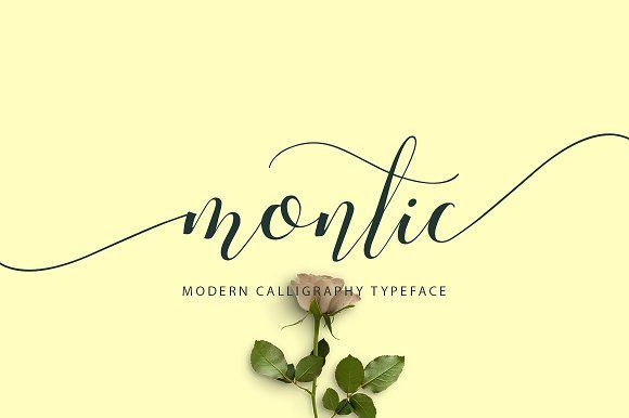 Montic by MissinkLab Studio on @creativemarket
