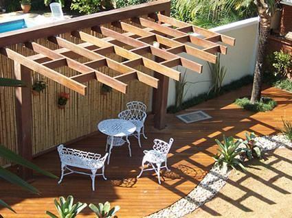design futury: Pergolados em madeira