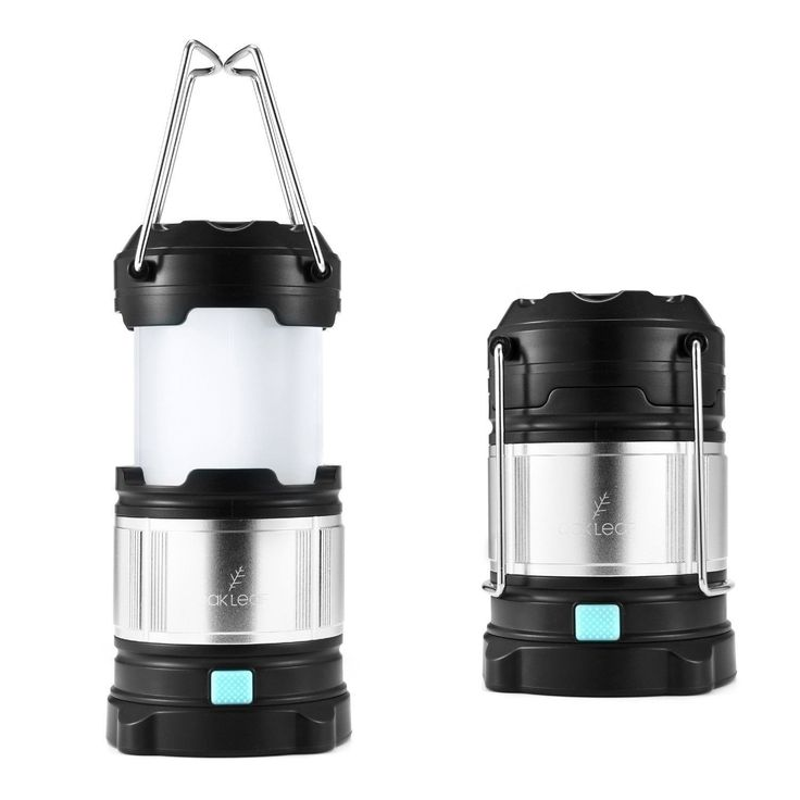 Led Lantern Flashlightoak Leaf Portable Outdoor Rechargeable Lanterns With 44..