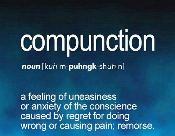 Compunction