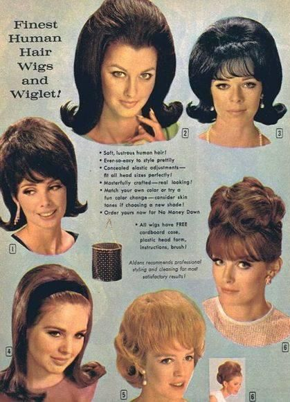 1960s Hairstyles Wigs 1960s Hair Retro Hairstyles