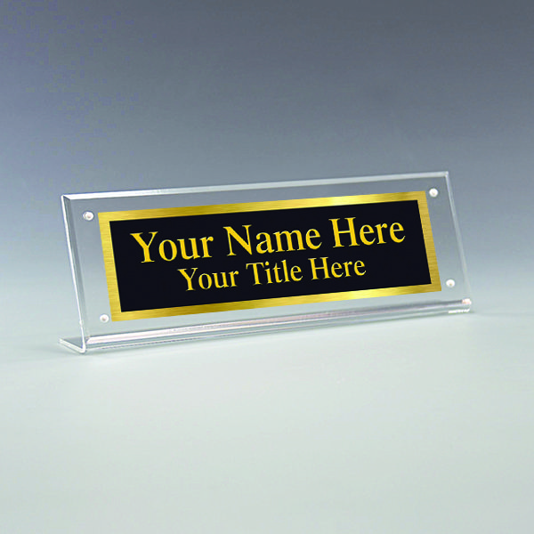 Acrylic Name Plate Holder Desk Name Plate Holder Office Name Plate Holder Name Plate Office Name Plate Plate Holder