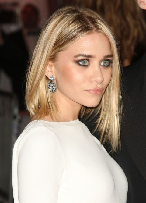 Ashley Olsen's colorist deserves a medal! Her chunky, painterly highlights are striking, yet natural looking. Try VS Salonist 9.5/0 Very Light Neutral Blonde if you're feeling inspired.