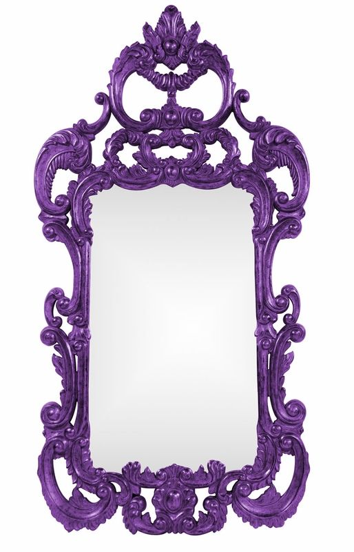 Whimsical mirror, so many colors to choose from!
