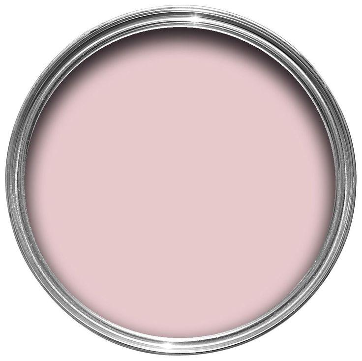 B&Q Pink Matt Emulsion Paint 2.5L   Departments   DIY at B&Q