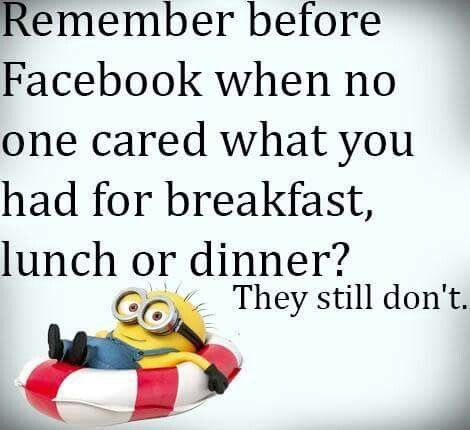 Before Facebook · Minion WordsFunny ...