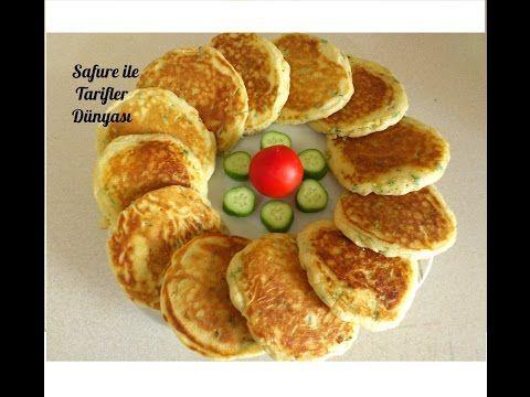 Kahvaltılık Peynirli Kaşık Dökmesi Tarifi - Peynirli Pankek Nasıl Yapılır - Kahvaltılık Tarifler - YouTube
