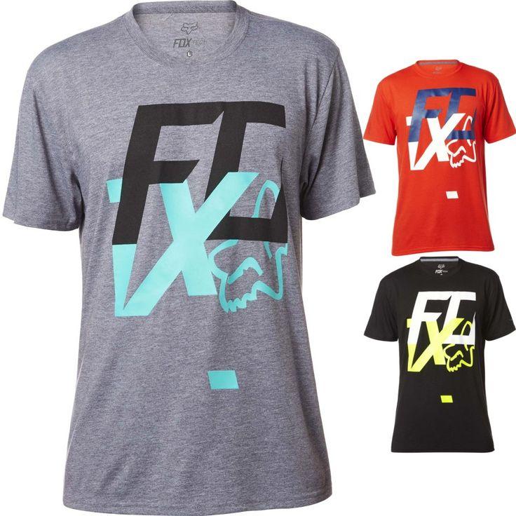 Fox Racing Head Over Heels Mens Motocross Off Road Short Sleeve Tech T-Shirts