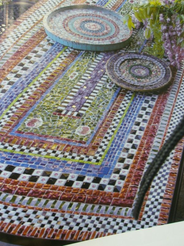 Find This Pin And More On Geometric Design (square/rectangle)   Mosaics By  Nedconnorsmom.