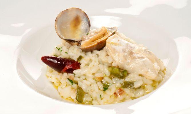 arroz con bacalao de bruno oteiza