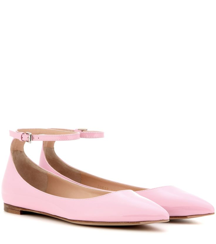 mytheresa.com - Gia patent leather ballerinas - Luxury Fashion for Women / Designer clothing, shoes, bags