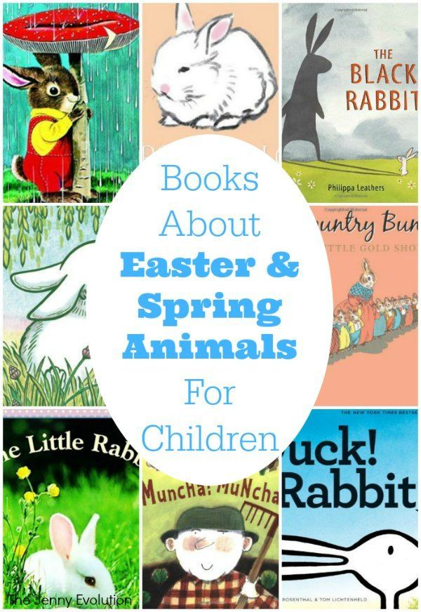 15 books about easter animals for children - Book Images For Kids