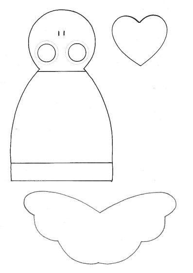 1000 images about angeli di pezza tutorial on pinterest for Tutorial fermaporta di stoffa