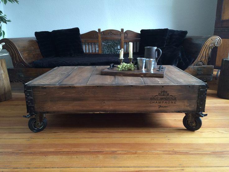 industrial couchtisch energiemakeovernop. Black Bedroom Furniture Sets. Home Design Ideas
