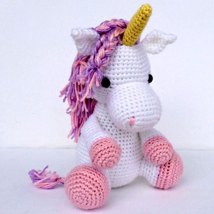 A sweet crocheted unicorn that can be made in custom colors? Yes, please!  Isn't this unicorn from You Had Me At Crochet adorable? Get ready for  another unicorn find coming up tomorrow and then on Monday, it's a freebie.  And, I'm thinking you may have guessed its theme? :)