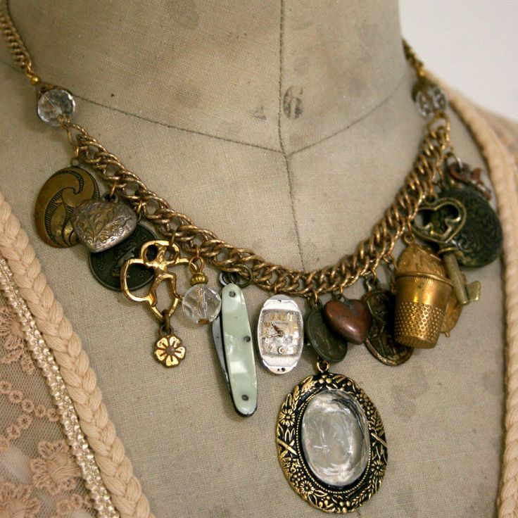 Old World Charm Necklace