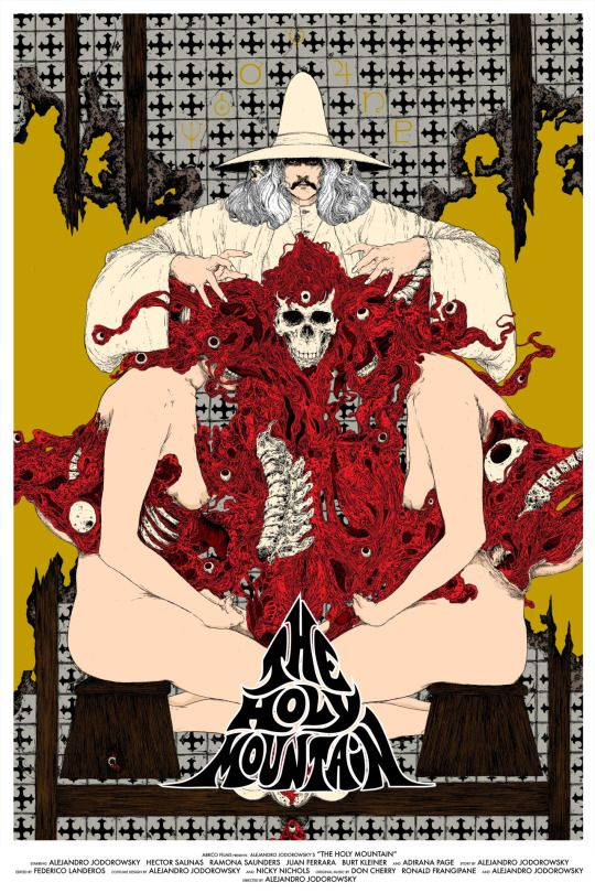 The holy mountain (1973) - Alejandro Jodorowsky