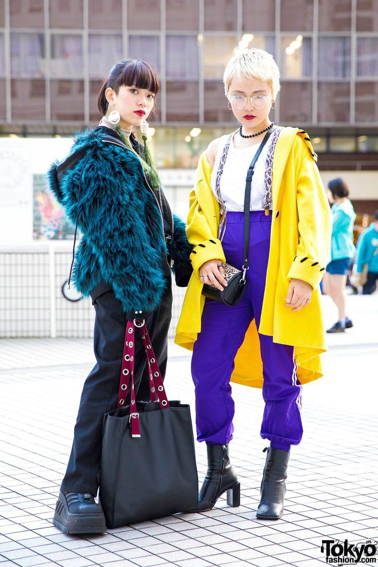 Winter Tokyo Street Fashion w/ M.Y.O.B. NYC, Faith, Demonia, Dickies, WEGO & ME