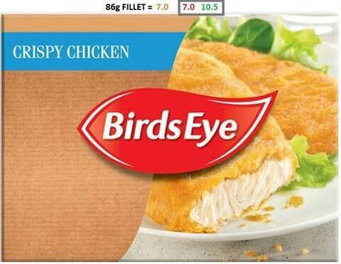 Birds eye crispy chicken