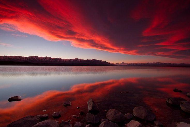 Mount Cook, Lake Pukaki, New Zeland