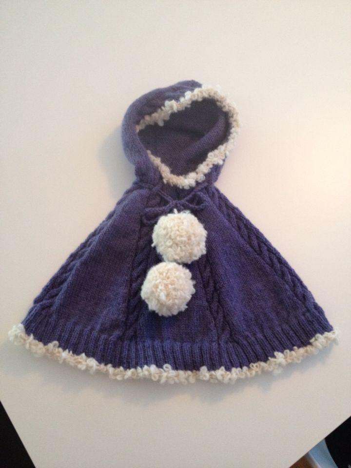 Ponsjo strikket i Alpakka fra Sandesgarn, mønster fra Babyzonen