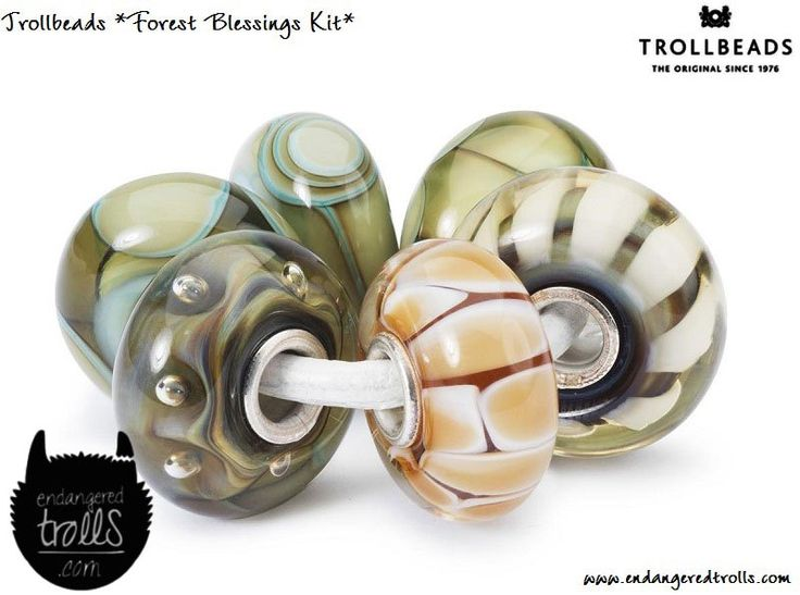 Trollbeads Autumn 2017 Preview (Trollbeads Nature's Promise) - Endangered Trolls
