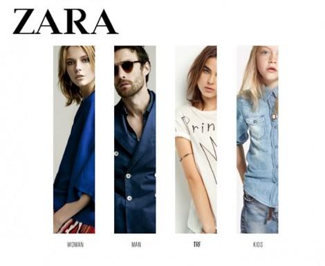 Zara online rebajas 2012
