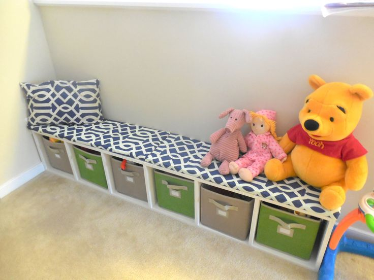 Diy Storage Bench For Kids Toys Loft Pinterest Diy